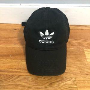 Black Adidas Dad Hat